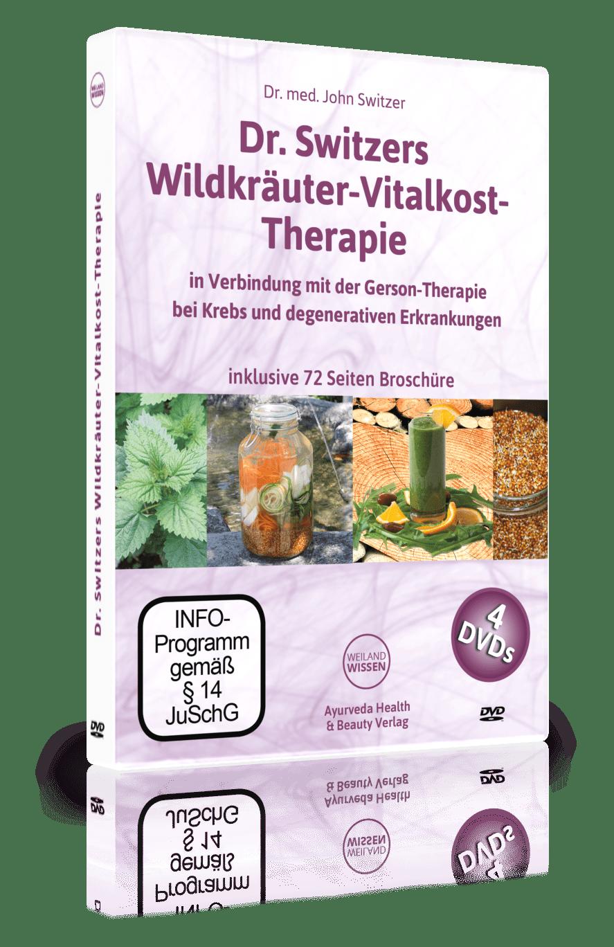 DVD-INTENSIV-SEMINAR: Dr. Switzers Wildkräuter Vitalkost in Verbindung mit der Gerson Therapie